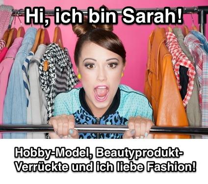 Hi, ich bin Sarah!